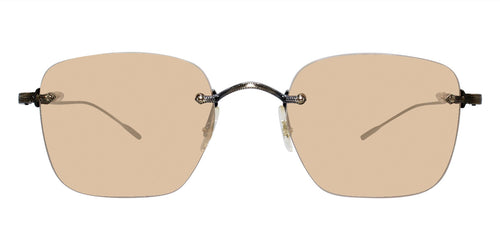 Oliver Peoples Finne Bronze / Brown Lens Sunglasses