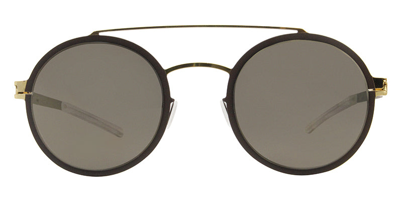 Mykita Lupita Gold Brown / Brown Lens Mirror Sunglasses