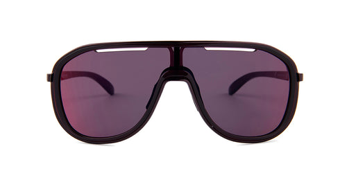 Oakley Outpace Raspberry / Purple Lens Mirror Sunglasses