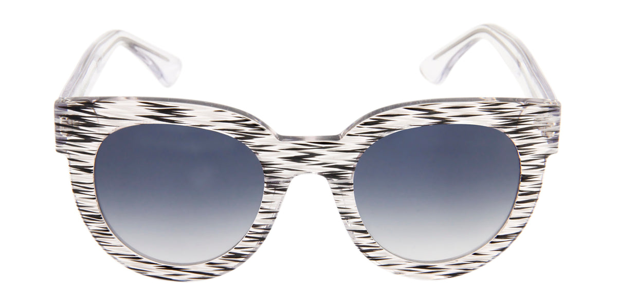 Thierry Lasry - Therapy White Oval Women Sunglasses - 50mm