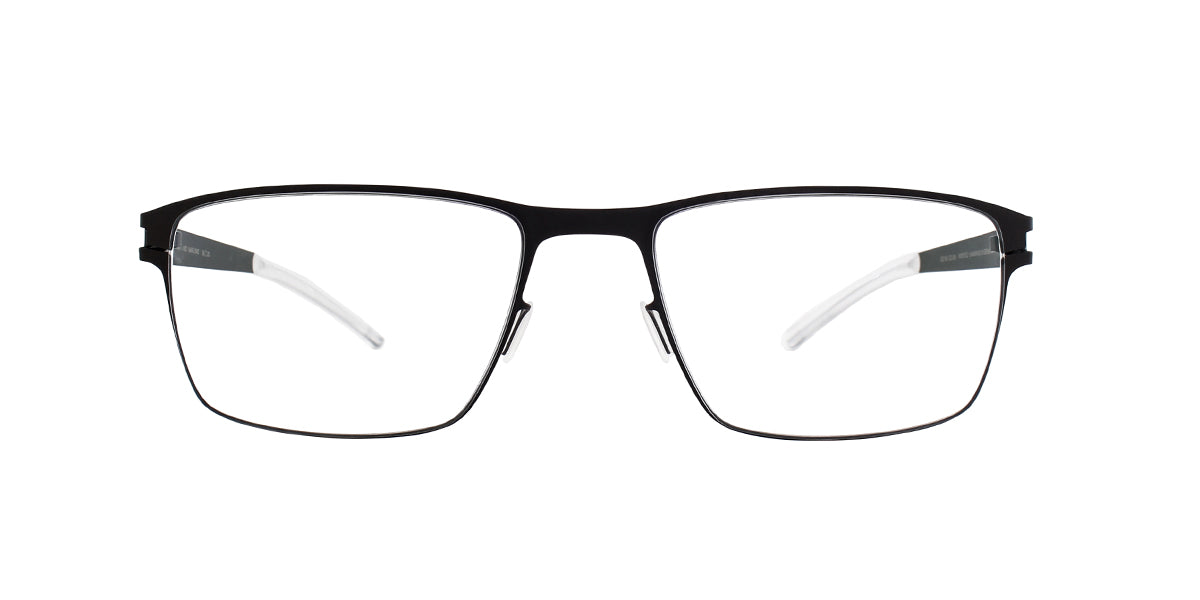 Mykita - Marlowe Blackberry/Clear Rectangular Men Eyeglasses - 58mm