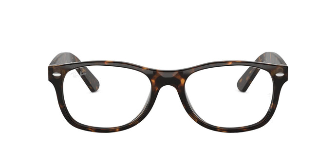Ray Ban Rx - RX5184 Dark Havana Square Unisex Eyeglasses - 50mm