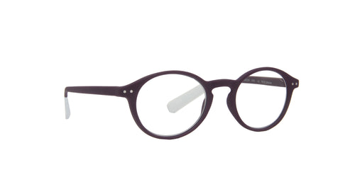 Pantone - N Two +2.00 Purple Oval Women Eyeglasses - 49mm