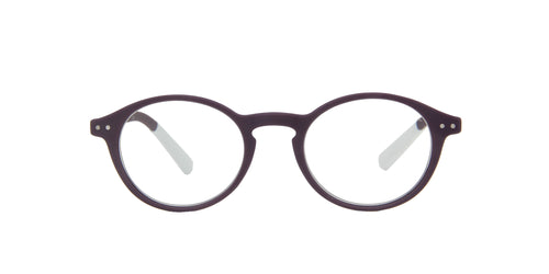 Pantone - N Two +2.50 Purple Oval Women Eyeglasses - 49mm