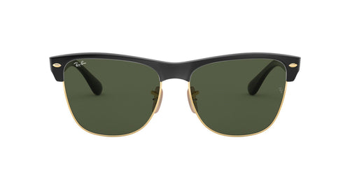 Ray Ban - Clubmaster Oversized Black/Green Oval Unisex Sunglasses - 57mm