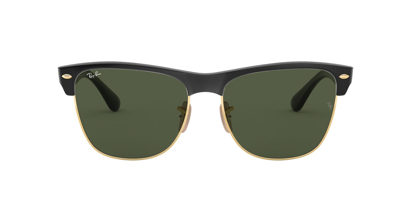 Ray Ban - Clubmaster Oversized Black Oval Men, Women Sunglasses - 57mm