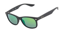Ray Ban Jr - RJ9052S Black Rectangular Kids Sunglasses - 47mm