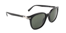 Persol - PO3216-S Black Square Unisex Sunglasses - 51mm