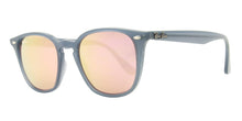 Ray Ban - RB4258 Gray/Pink Rectangular Unisex Sunglasses - 50mm