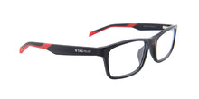Tagheuer - TH0555 Black Rectangular Men Eyeglasses - 55mm