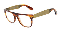 Retrosuperfuture - Flat Top Tortoise Oval Men, Women Eyeglasses - 52mm