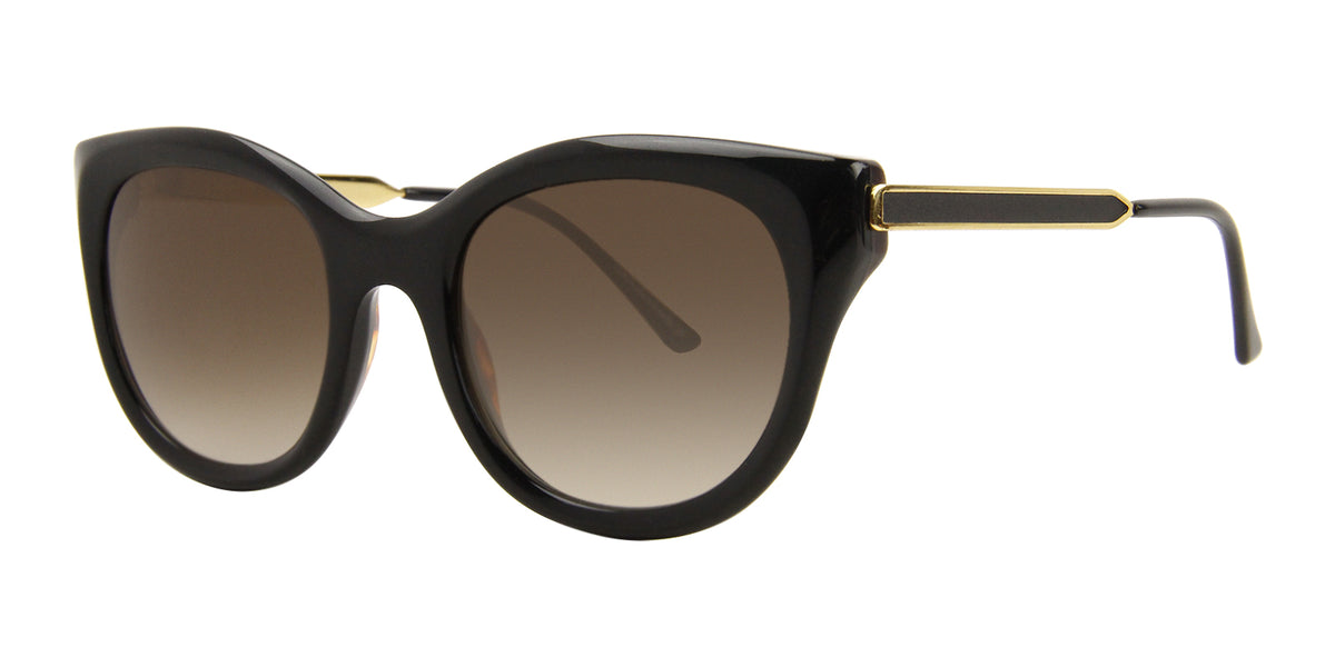 Thierry Lasry - DirtyMindy Black Cat-Eye Women Sunglasses - 56mm