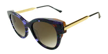 Thierry Lasry Angely Purple/Green / Brown Lens Sunglasses