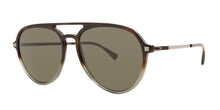 Mykita - Sanuk Tortoise/Brown Aviator Unisex Sunglasses - 55mm