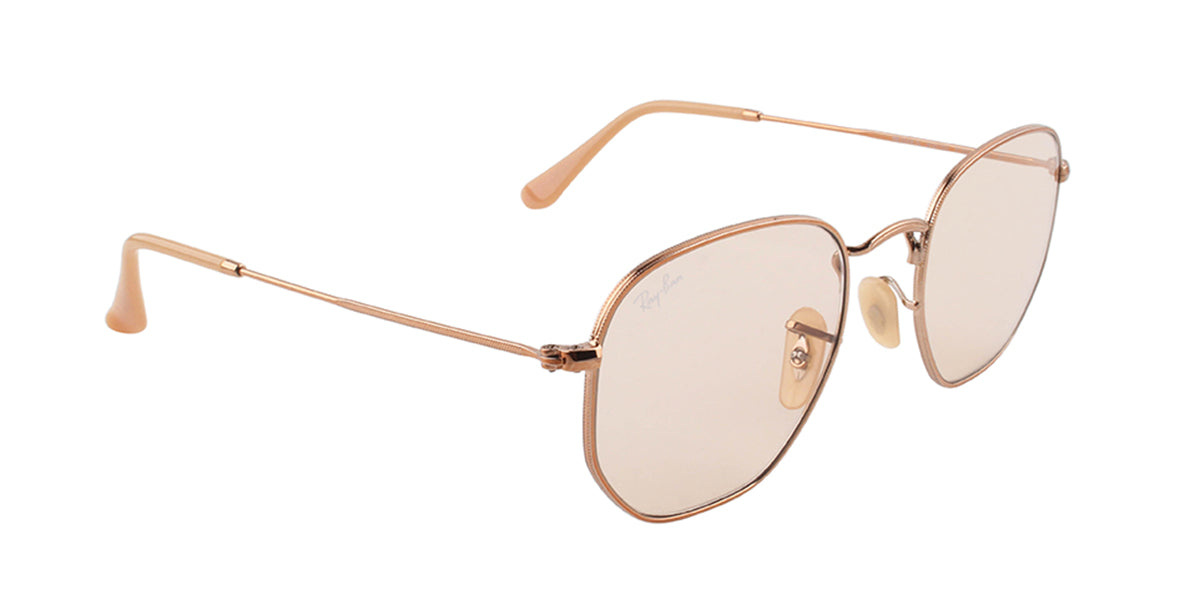 Ray Ban - RB3548N Bronze/Brown Square Women Sunglasses - 51mm