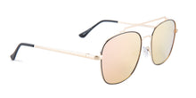 Quay Australia To Be Seen Gold / Pink Lens Mirror Sunglasses