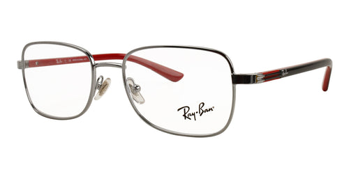 Ray Ban Rx - RY1036 Silver Rectangular Unisex Eyeglasses - 47mm