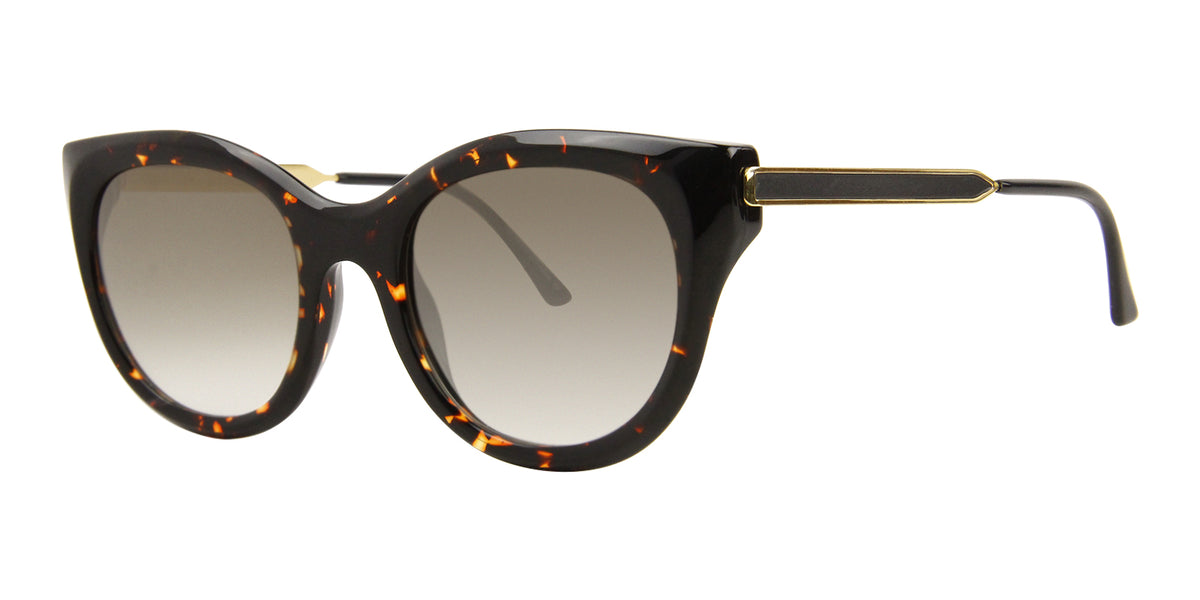 Thierry Lasry - DirtyMindy Tortoise Cat-Eye Women Sunglasses - 56mm