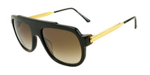 Thierry Lasry - Century Black Rectangular Men, Women Sunglasses - 56mm