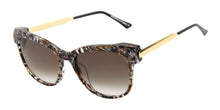 Thierry Lasry - Lippy Brown/Gray Oval Women Sunglasses - 56mm