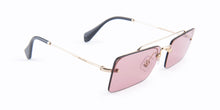 Miu Miu - SMU59T Silver Rimless Women Sunglasses - 58mm