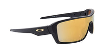 Oakley Ridgeline Black / Yellow Lens Mirror Polarized Sunglasses