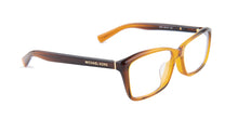 Michael Kors Lyra Brown / Clear Lens Eyeglasses