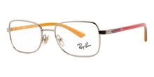 Ray Ban Jr - RY1036 Silver Rectangular Kids Eyeglasses - 45mm