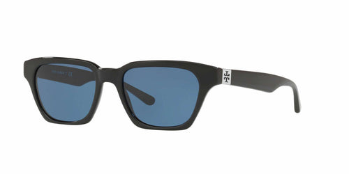 e785c156f5c Tory Burch TY7119 Black   Blue Lens Sunglasses
