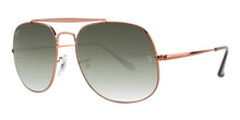 Ray Ban - RB3561 Bronze/Green Gradient Oval Unisex Sunglasses - 57mm