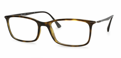 Ray Ban Rx - RB7031 Havana Square Women Eyeglasses - 55mm