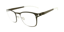 Mykita - Davis Brown/Clear Rectangular Unisex Eyeglasses - 50mm