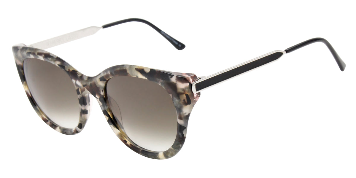 Thierry Lasry - Dirtymindy Gray Oval Women Sunglasses - 56mm