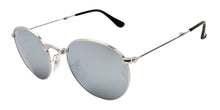 Ray Ban - RB3532 Silver/Green Oval Unisex Sunglasses - 47mm