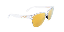 Oakley Frogskins Clear / Yellow Lens Mirror Sunglasses