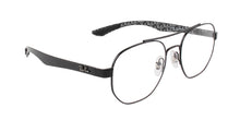 Ray Ban Rx - RX8418 Black Square Unisex Eyeglasses - 51mm