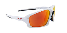 Oakley - Field Jacket White/Orange Mirror Wrap Men Sunglasses - 64mm