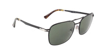 Persol - PO2454S Black Rectangular Men Sunglasses - 50mm