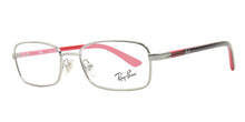 Ray Ban Jr - RY1037 Silver Rectangular Kids Eyeglasses - 47mm