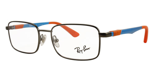 Ray Ban Rx - RY1043 Gray Rectangular Unisex Eyeglasses - 48mm