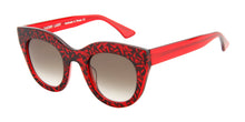 Thierry Lasry Deeply Red / Brown Lens Sunglasses