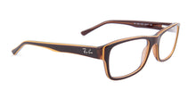 Ray-Ban Rx RX5268 Brown / Clear Lens Eyeglasses