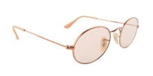 Ray Ban - RB3547N Copper/Brown Oval Women Sunglasses - 51mm