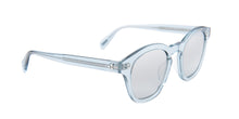 Oliver Peoples Boudreau Blue / Silver Lens Mirror Sunglasses
