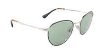 Persol - PO2445-S Black Oval Unisex Sunglasses - 52mm