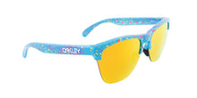 Oakley OO9374-14 Blue / Yellow Lens Mirror Sunglasses