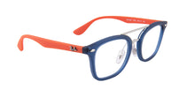 Ray Ban Jr - RY1585 Blue Square Kids Eyeglasses - 45mm