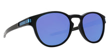 Oakley - Latch Black/Blue Oval Men Sunglasses - 53mm