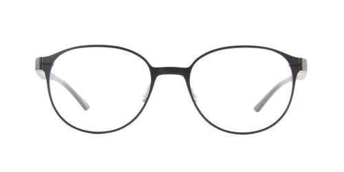Porsche Design - P8345 black Oval Unisex Eyeglasses - 52mm