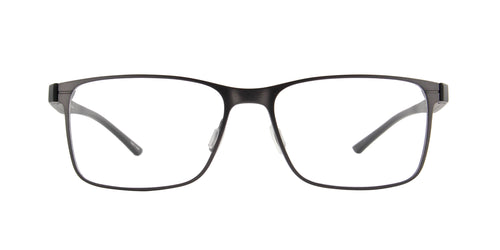 Porsche Design - P8346 dark gun Rectangular Men Eyeglasses - 55mm